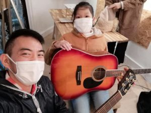 仙台入門ギター弾き語り倶楽部個人レッスン風景