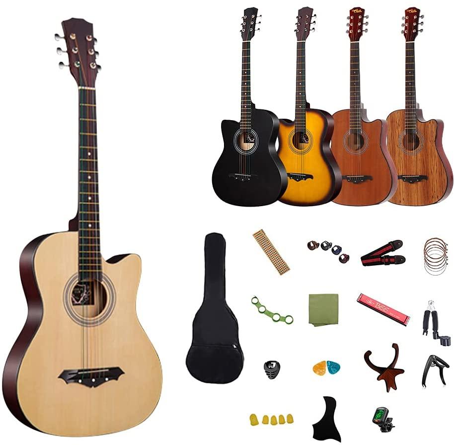 入門者向け・初心者用アコースティックギターセットの画像