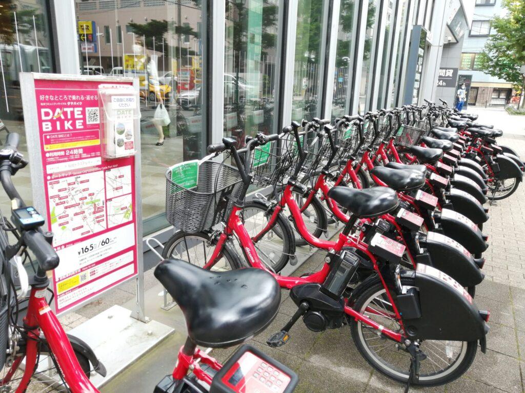 仙台トラストシティにあるダテバイク
