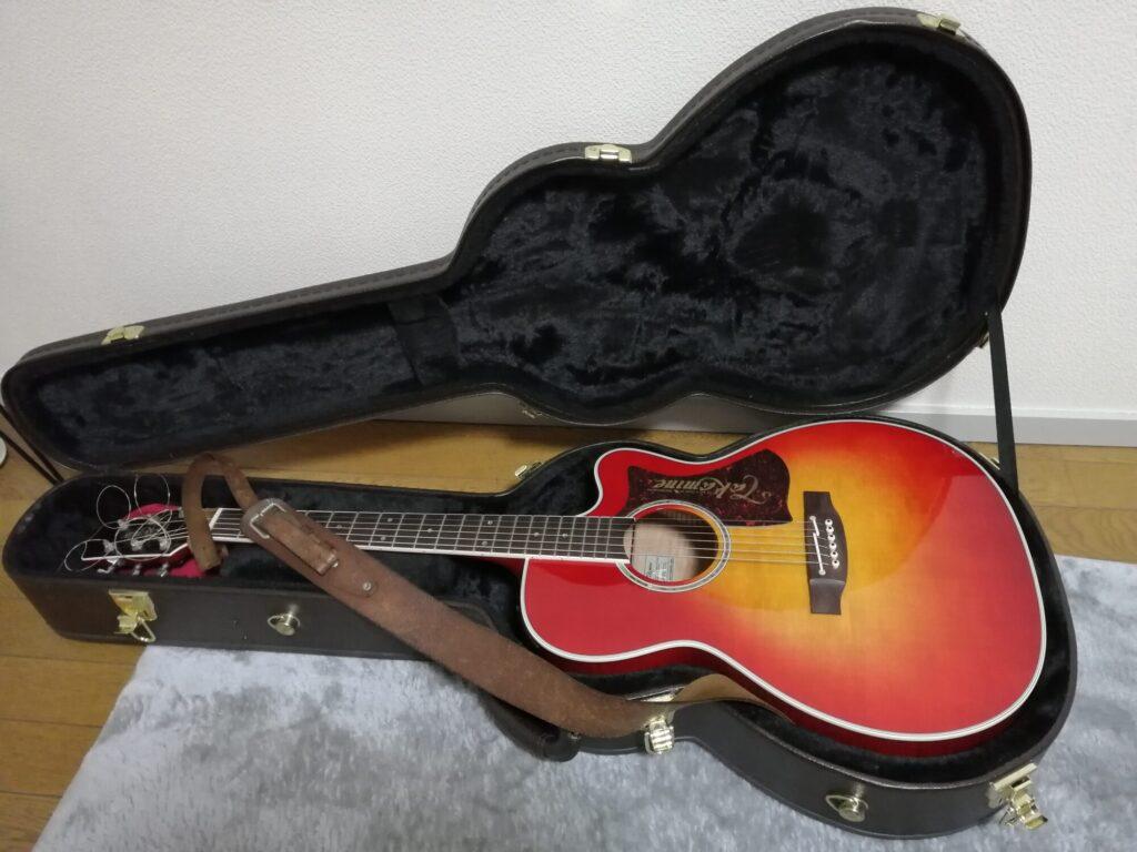 Takamineのエレクトリックアコースティックギター
